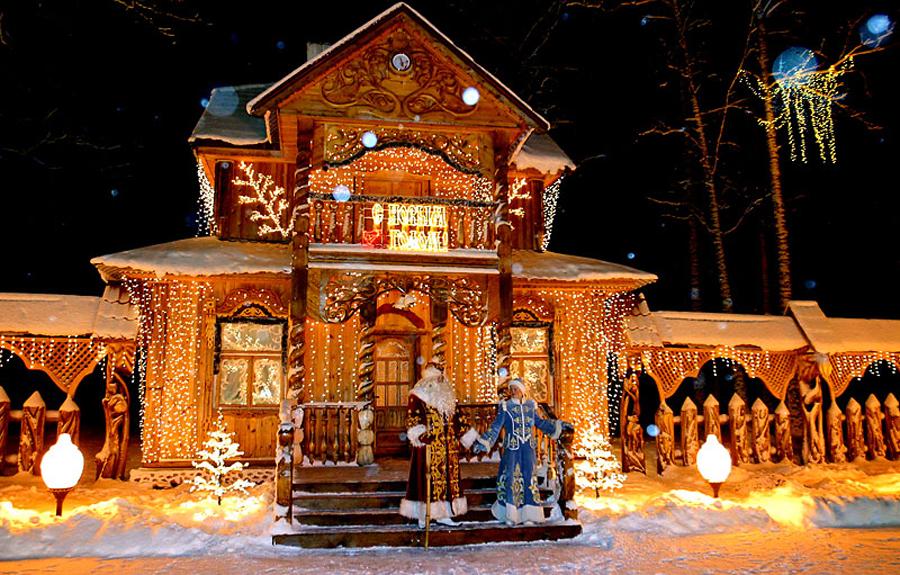 фото зимой мороза резиденцию в деда